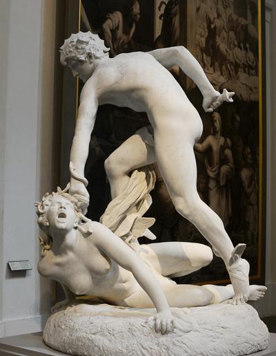 Persée et Gorgone. Laurent Marqueste