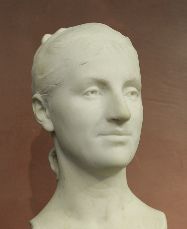 Louise Maignan Larivière. Antonin Mercié