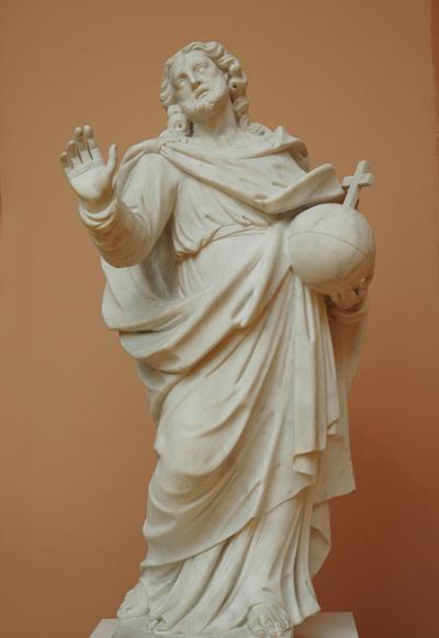 Le Christ sauveur du monde. Antoine Pater.