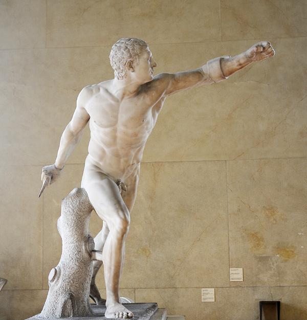 Gladiateur combattant. Pierre Petitot.