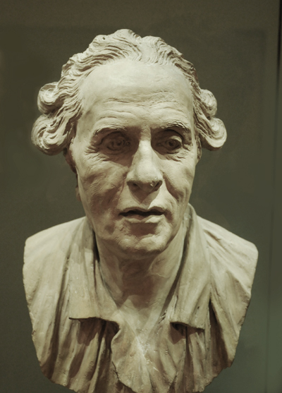 Autoportrait. Jean Baptiste Pigalle.