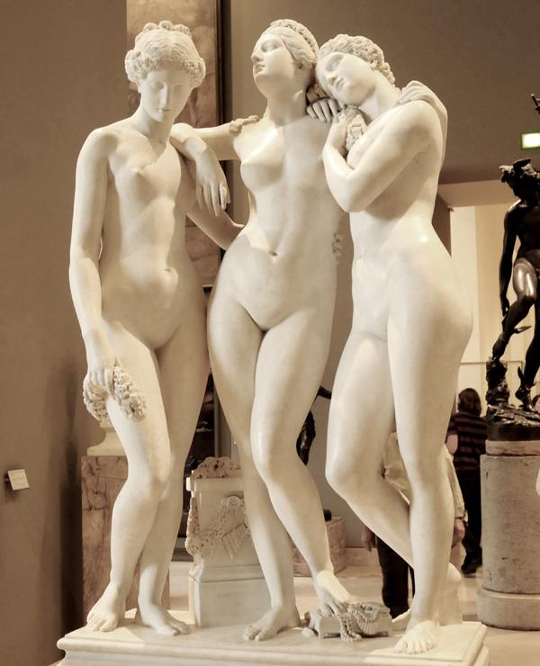 Les Trois Grâces. James Pradier.