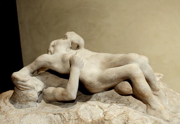 Scène de l'enfer de Dante. Auguste Rodin.