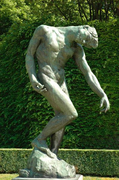 Adam. Auguste Rodin