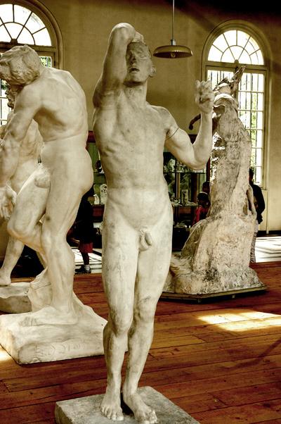 Age d'airain. Auguste Rodin.