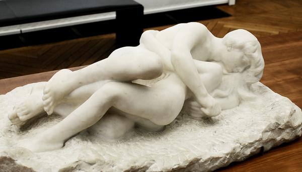Amour et Psyché. Auguste Rodin.