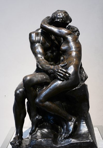 Le Baiser. Auguste Rodin.