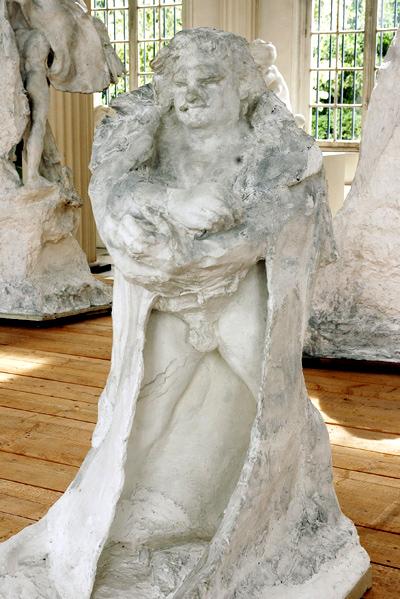 Balzac vêtu. Auguste Rodin.