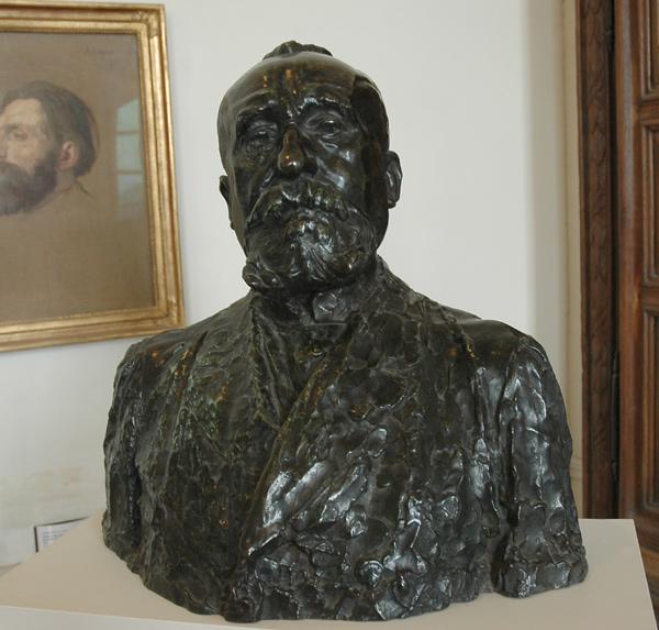 Puvis de Chavanne. Auguste Rodin.
