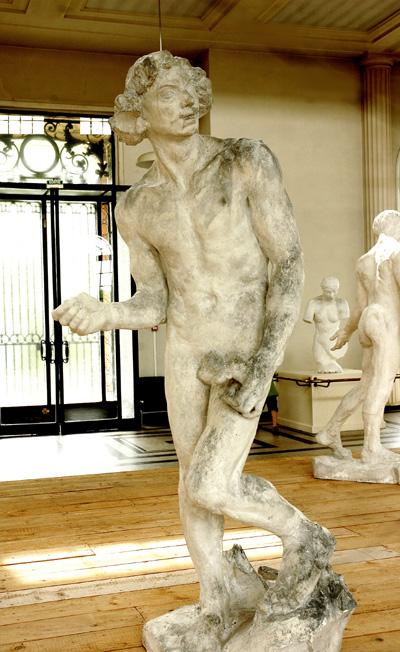 Claude Lorrain. Etude. Auguste Rodin.