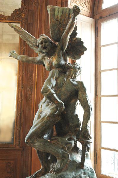 La Défense ou l'Appel aux Armes. Auguste Rodin.