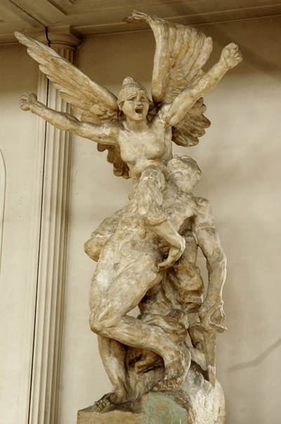 La Défense. Auguste Rodin.