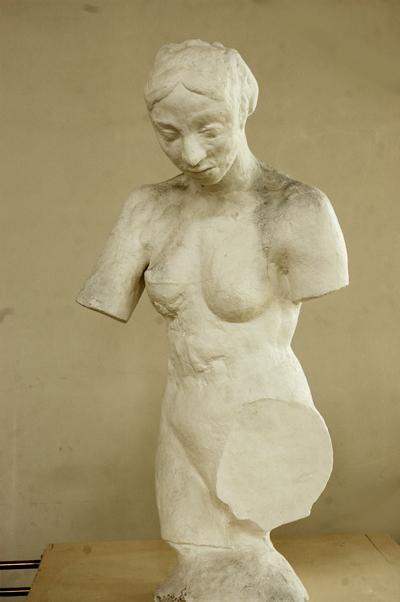 Femme inconnue. Auguste Rodin.