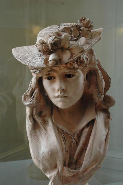 La Fille au chapeau. Auguste Rodin.