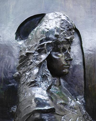 La France ou Saint Georges. Auguste Rodin.