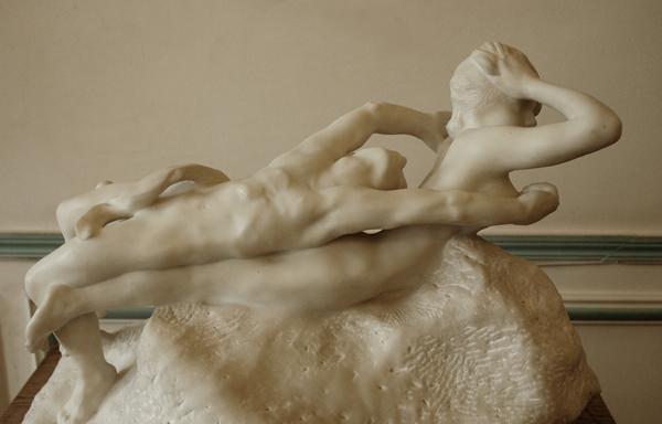 Fugit Amor. Auguste Rodin.