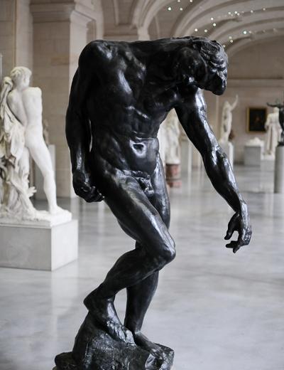 Grande ombre. Auguste Rodin.
