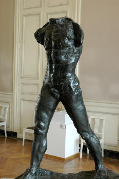 L'homme qui marche. Auguste Rodin.