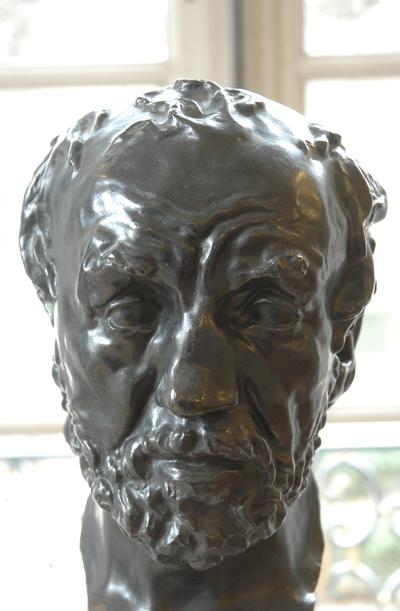 L'Homme au nez cassé. Auguste Rodin.