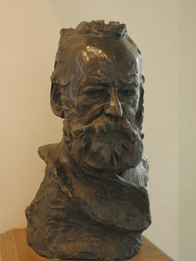 Buste de Hugo. Auguste Rodin.