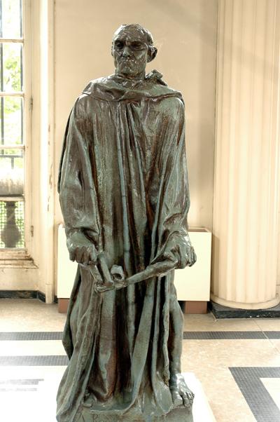 Bourgeois de Calais. Jean Aire. Etude. Auguste Rodin.