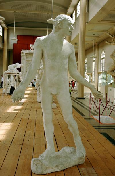 Bourgeois de Calais. Etude. Jean Fiennes. Auguste Rodin.