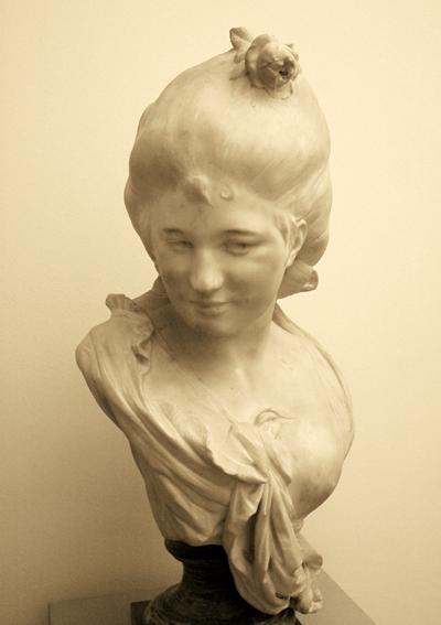 Jeune fille. Auguste Rodin.