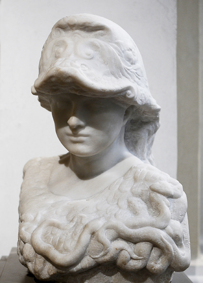 Minerve. Casque. Auguste Rodin.