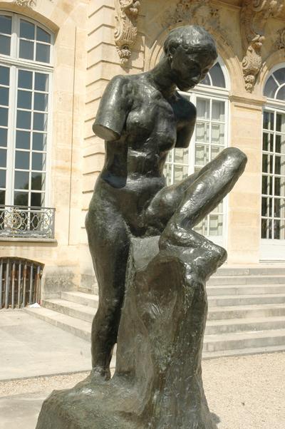 La Muse Whistler. Auguste Rodin.