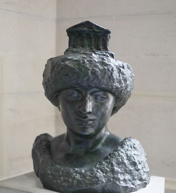 Pallas au Parthénon. Auguste Rodin.
