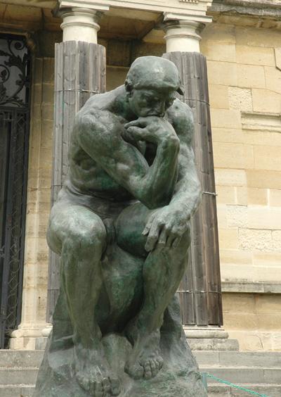 Le Penseur. Auguste Rodin.