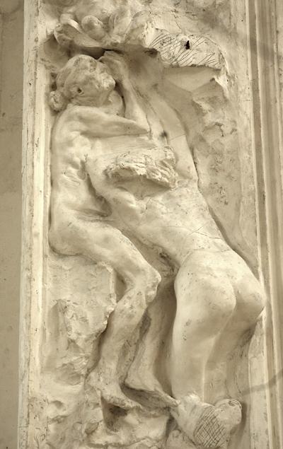 La Belle Haulmière. Porte de l'Enfer. Auguste Rodin.