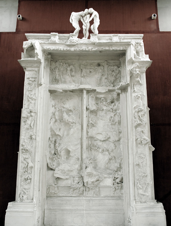 La Porte de l'Enfer. Etude. Auguste Rodin.