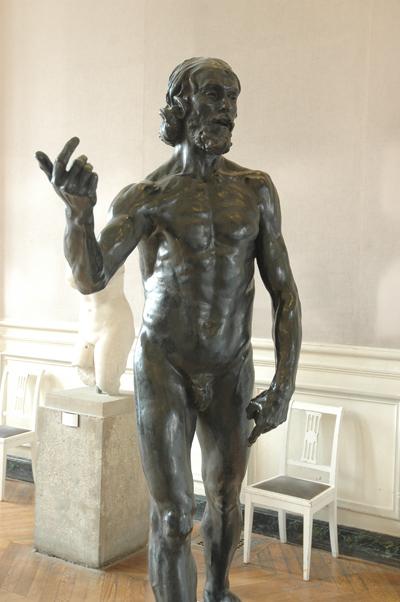Saint Jean Baptisme. Auguste Rodin.