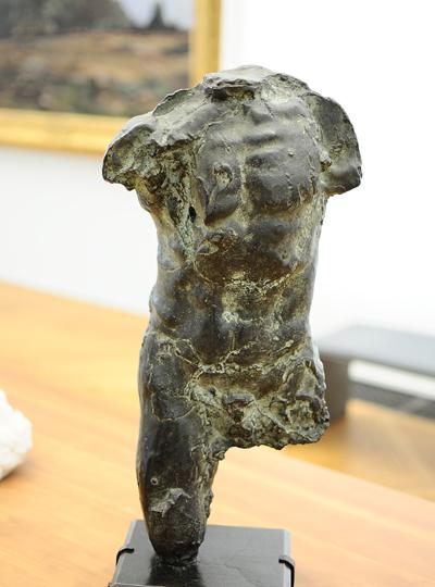 Torse d'homme. Auguste Rodin.