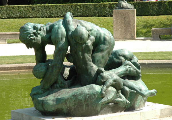 Ugolin. Auguste Rodin.