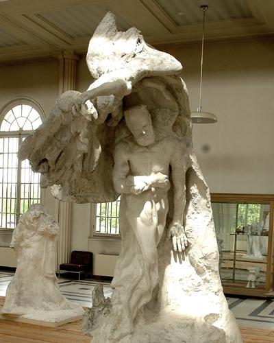 Victor Hugo. Augsute Rodin.