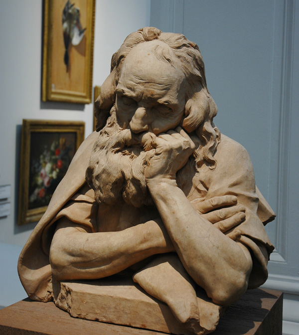 Etude de vieillard. Philippe Laurent Roland.