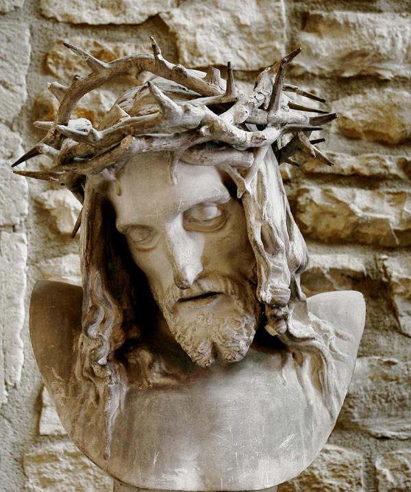 Tête du Christ. François Rude.