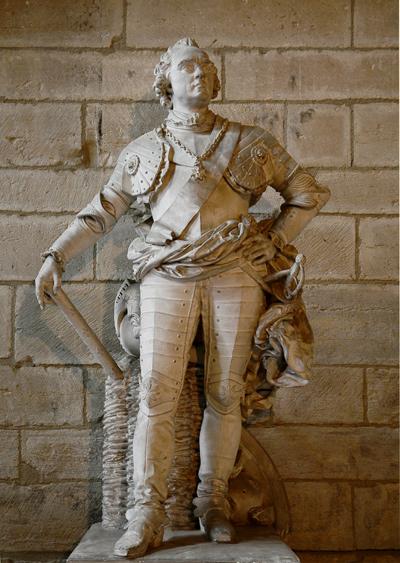 Le maréchal de Saxe. François Rude.