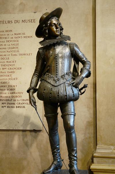 Louis XIII enfant. François Rude.