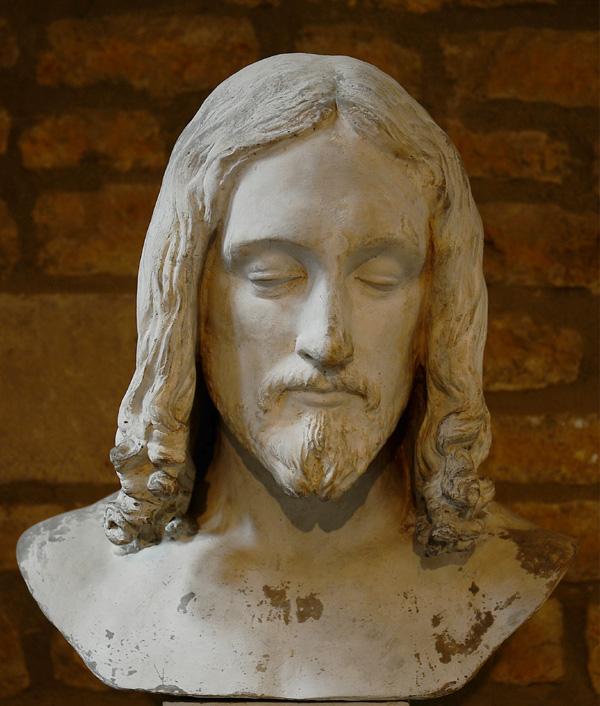 Tête du Christ crucifié. François Rude.