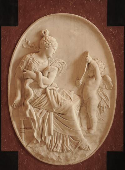 Epitaphe du roi Louis XIII. La Prudence. Jacques Sarrazin.