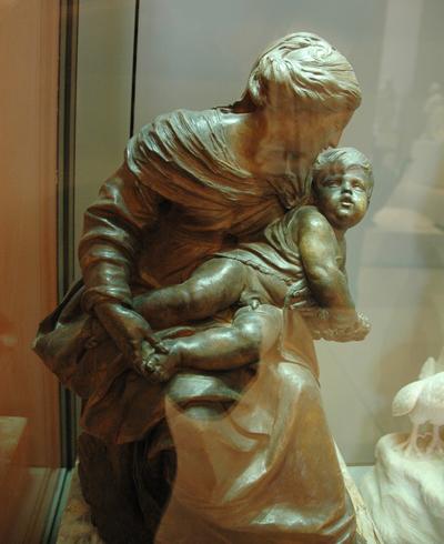 Vierge et l'Enfant. Jacques Sarrazin