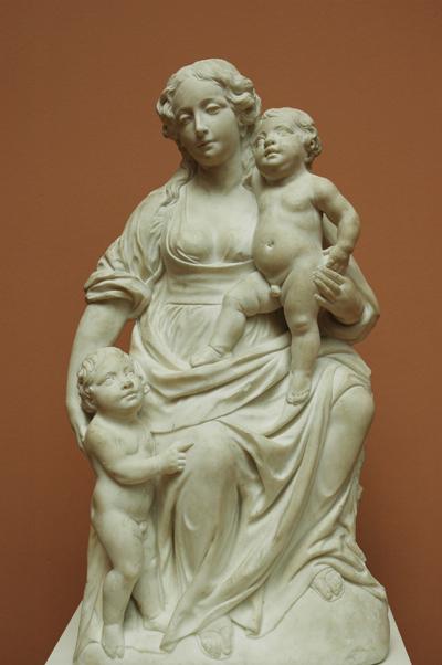 La Vierge et l'enfant. Pierre Schleiff