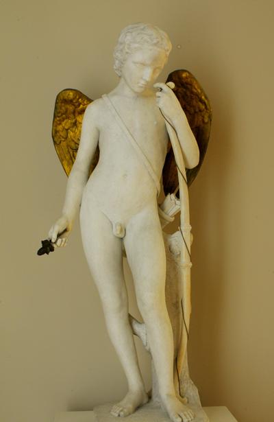 Cupidon aux ailes dorées. Louis Schroeder.