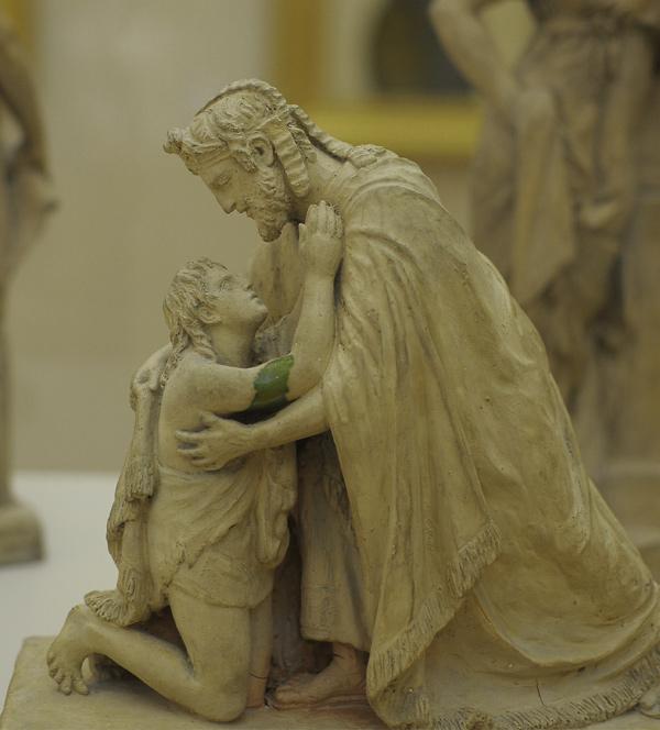 Le Retour du fils prodigue. Clémence Sophie de Sermézy.