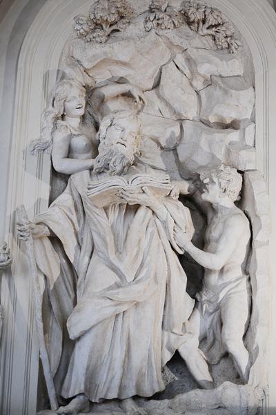 Saint Antoine. Simon Guillaume.