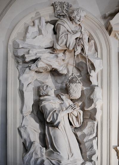 Saint Benoît. Simon Guillaume.