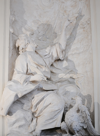 Saint Jean. Simon Guillaume.